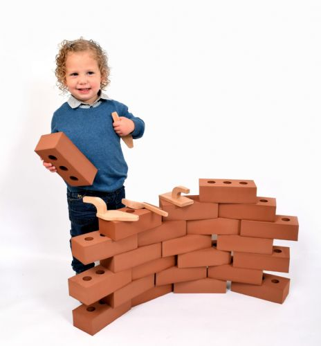 Life Size Building Foam Bricks 25pk